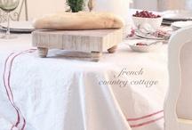 Linge et décor de table