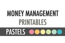 Money Management Printables - DIY Planner - Pastels / Money Management Printables - DIY Planner - Pastels