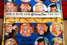 Nancy Drew Fabric Crafts