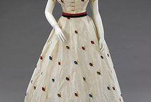 Dresses ca.1860-1869