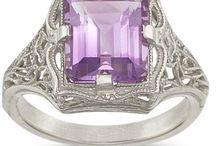purple shiney