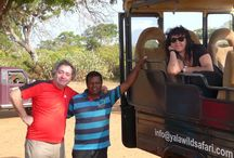 Yala Wild Life Sanctuary with private driver. / Yala Wild Life Sanctuary, Sri Lanka is the best place to view Asian animals in the wild life. Chinthaka the private driver used to take you here while going on round tours.