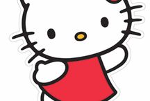 Hello Kitty Cardboard Cutouts