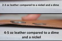 Leather Craft DIY / by Sondra Snider