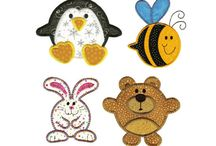 Free embroidery designs / by Linda Paajanen