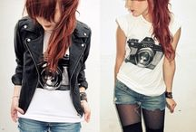 rock - punk outfit <3