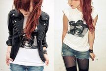 rock - punk outfit <3