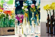 Decoratiuni din si cu sticla