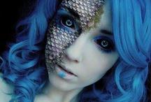 body paint queen of elements