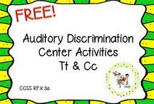 Auditory discrimination