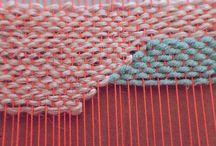 Modèle tissage laine