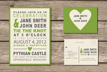 Invites, Stationary / by Liz MacDonnell