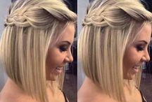 Penteados de cabelo curto