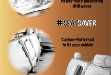 SeatSaver Board / When it comes to protecting your seats from the expected and unexpected... accept no substitutes. #seatsaver  / by Covercraft Industries