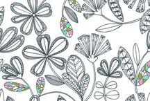 Floral + Animals