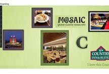 Mosaic- The Multi-cuisine restaurant / Mosaic- The Multi-cuisine restaurant at Country Inn & Suites By Carlson, Ahmedabad