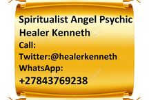 Psychic of Love Healing Kenneth on WhatsApp: +27843769238
