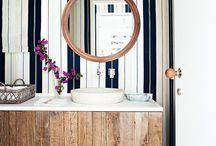 Kedvenc fürdőszoba enteriőrök