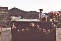 Terrace wedding party