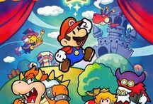 Paper Mario: The Thousand Year Door / Artwork from Paper Mario: The Thousand Year Door for Gamecube.   More info @  http://www.superluigibros.com/paper-mario-the-thousand-year-door