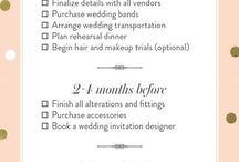 Wedding checklists