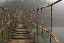 Bridges and Stairways to Heaven / Bridges and stairways that inspire me to dream about