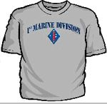 1st Marine Division Gear, Hats, Shirts, Patches, Pins, Coins More / Our selection for 1st Marine Division gear includes tee shirts, golf shirts, caps, patches, challenge coins, decals, pins, dog tags, license plates and more.