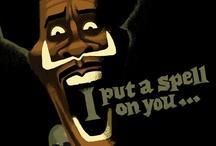 DESIGN LAB I - Screamin' / Screamin' Jay Hawkins / by Candice Oates