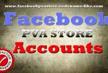 Facebook PVA  / Facebook PVA Store only delivers high quality Facebook Phone Verified Accounts. We can provide too country targeted Facebook PVA's.