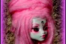 ♠ Fairy Pinkcloud ♠ / MH Custom  Repaint e Reroot: Rose Noir