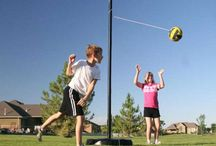 Tether ball games / This pin is to show the different tetherball sets out there.  We specialize in the Lifetime and Gared Sport tether ball kits for your backyard.  The most popular model is 90029  and there is a lifetime replacement ball 1054280.