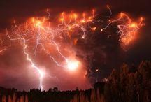 Zabójcze piękno nad wulkanem Puyehue w Chile