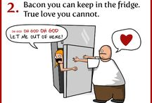 for the love of BACON!  / by Hannah Jones