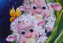 Little Things / All kinds of sheepish things for nursery, baby, infant and kids of all ages