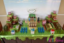 Minecraft party / by Karie McLean