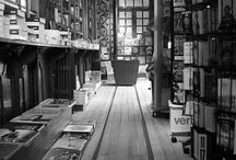 Bookshops and libraries