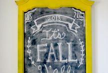 DIY Chalkboard Art / by Tiff Terry