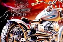 Harley Davidson / by Mike Wingate