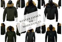 Heren Winterjassen bij Modedam.nl