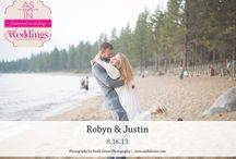 Featured Real Wedding: Robyn & Justin {from the Summer/Fall 2014 Issue of Real Weddings Magazine} / Robyn & Justin-Featured Real Wedding from the Summer/Fall 2014 issue of Real Weddings Magazine, www.realweddingsmag.com. Photos by and copyright Emily Heizer Photography, www.emilyheizer.com; Venue: Zephyr Cove Resort, www.zephyrcove.com. See more here: http://www.realweddingsmag.com/featured-real-wedding-robyn-justin-from-the-summerfall-2014-issue-of-real-weddings-magazine/