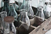 Glass, bottles & jars