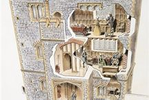 Castle Interiors and Blueprints / For writing research and inspiration