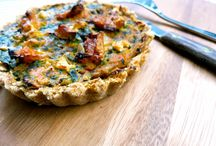 Vegan quiches/omelettes