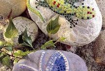 Морские камни и раковины