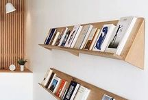 Bücher regale