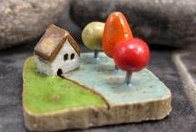keramická dedinka
