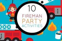 Fireman Birthday / by Brittany