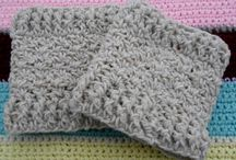 COWLS AND BOOT CUFFS / PATTERNS FOR THE EXTRAS TO KEEP OUT THE WIND / by Margaret Richardson