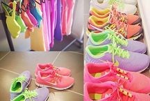 Sport clothing and shoes