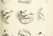 Lip Drawings